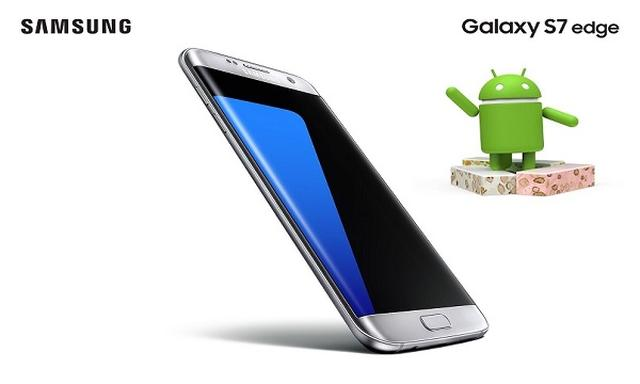 Wiadomo Kiedy Pojawi się Nougat na Siódmej Galaktyce Samsunga!