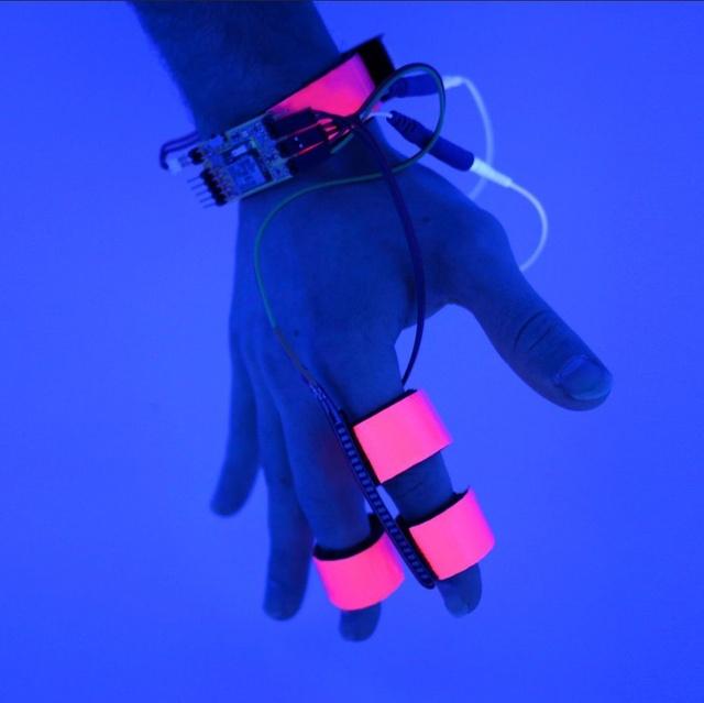 Rękawica Dormio otoczy nasz nadgarstek i palce