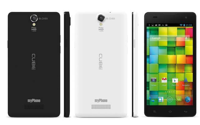 myPhone CUBE - 5-calowy smartfon polskiego producenta