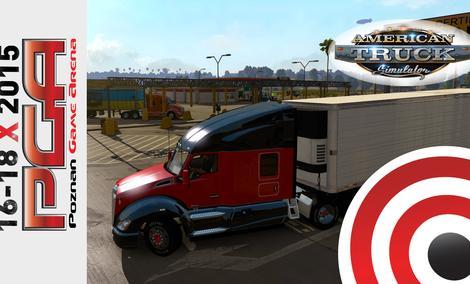 American Truck Simulator - pokaz przedpremierowy na PGA 2015