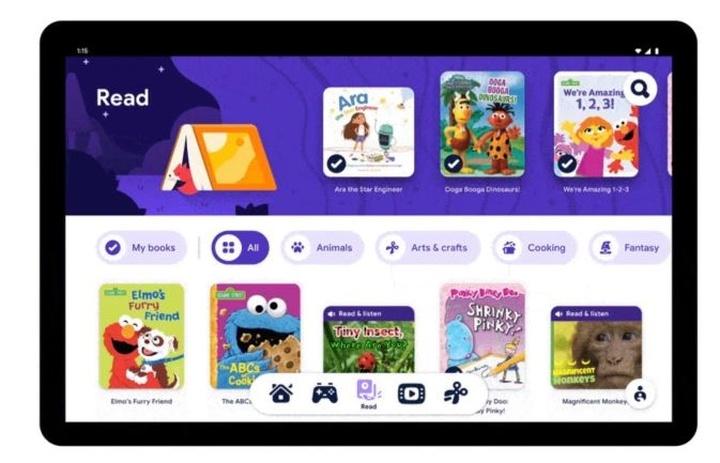 Kids Space oferuje dostęp do darmowych książek dla dzieci