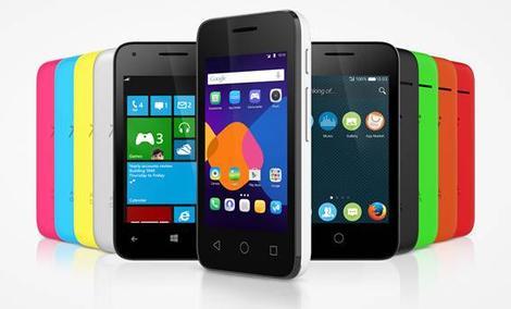 ALCATEL ONETOUCH PIXI 3 - Kolorowe Smartfony Z CES 2015