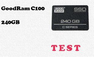 GoodRam C100 240GB test dysku SSD