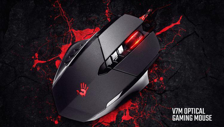 A4Tech Bloody V7m optyczna mysz dla graczy
