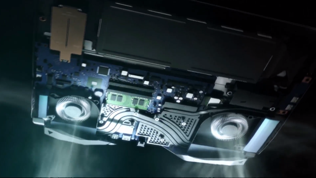 Acer Predator Helios 500 - AMD cooling