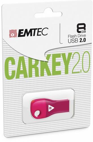 EMTEC Pendrive 8GB Car Key D302