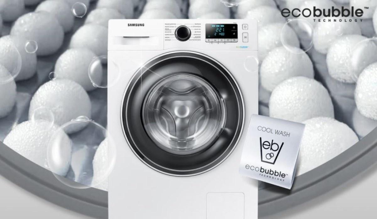 Samsung WW70J5346EW pralka z Ecobubble