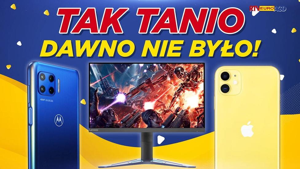 iPhone 11 790 zł taniej! Rabat na rabat w RTV Euro AGD!
