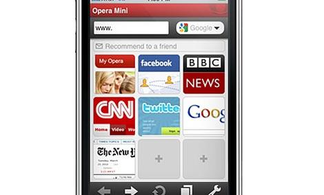 Opera Mini 5 i Opera Mobile 10