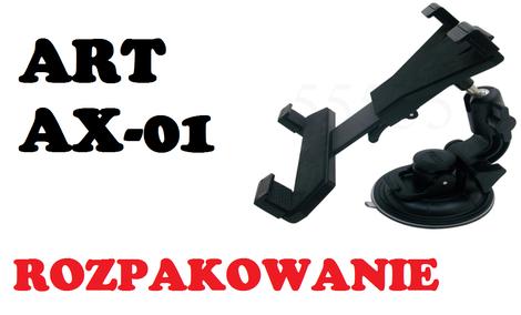 ART AX-01 Uchwyt do tabletu [ROZPAKOWANIE]