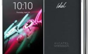 Alcatel OneTouch 6039Y IDOL 3 16GB Ciemnoszary (6039Y-2AALCZ7)