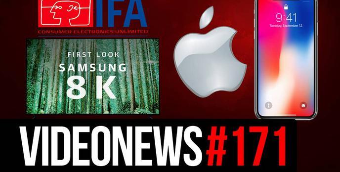 Podsumowanie IFA 2018, Premiera iPhone Xs, Paczkomaty w Lidlu - VideoNews #171