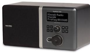TECHNISAT DigitRadio300 CYFROWE DAB+,FM,CZARNE