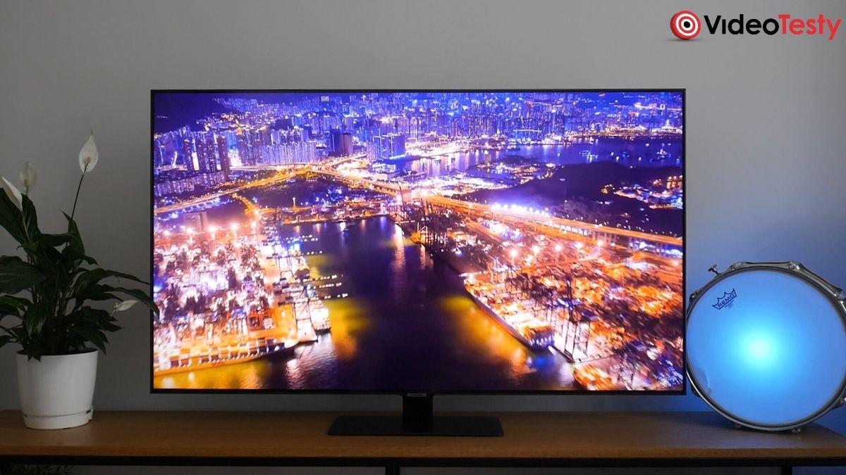 telewizor Samsung QE55Q80T jakość kolorów