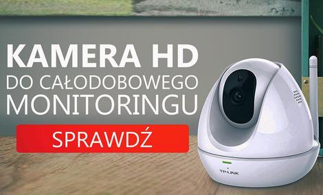 TP-link NC450 - Obrotowa Kamera HD do Całodobowego Monitoringu