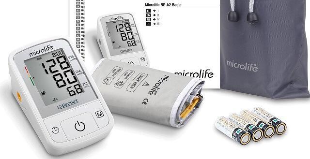 prosty w obsłudze ciśnieniomierz Microlife BP A2 Basic