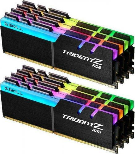 G.Skill Trident Z RGB DDR4, 8x16GB, 3000MHz, CL14 (F4-3000C14Q2-128GTZR)