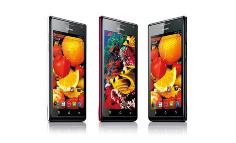 HUAWEI prezentuje najcieńszy smartfon świata na Consumer Electronics Show 2012 w Las Vegas