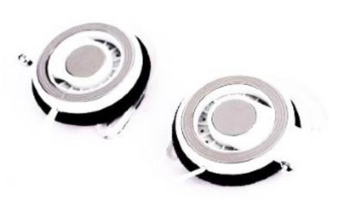 GEMBIRD Słuchawki Clip-On MP3A-HS3 Białe