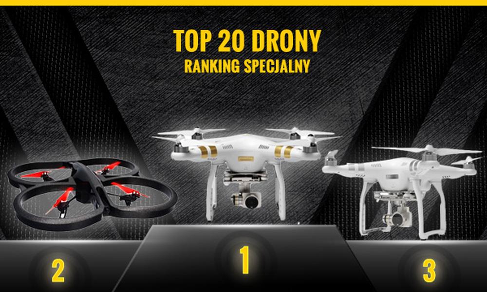 Najnowszy Ranking Dronów - TOP 20 Czołowych Urządzeń
