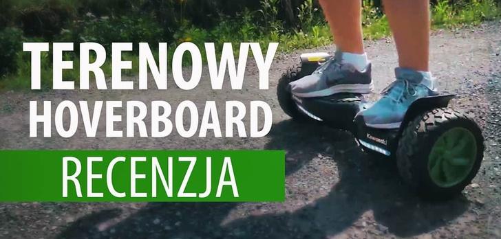 Terenowy hoverboard - Kawasaki KX-CROSS8.5