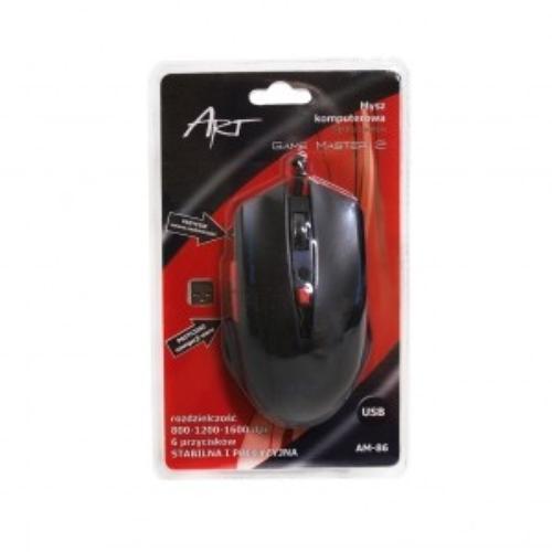 ART Mysz optyczna dla graczy AM-86 USB Game Master2