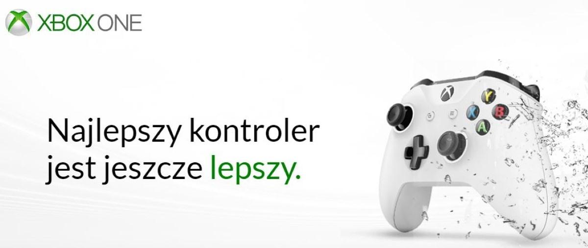 Kontroler Microsoft Xbox One ochlapany wodą