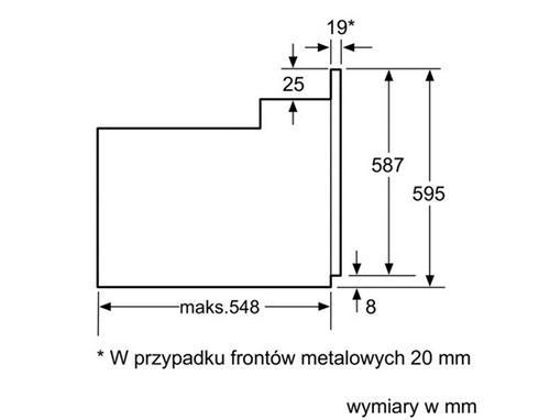 Bosch HBG38B750 Piekarnik PP