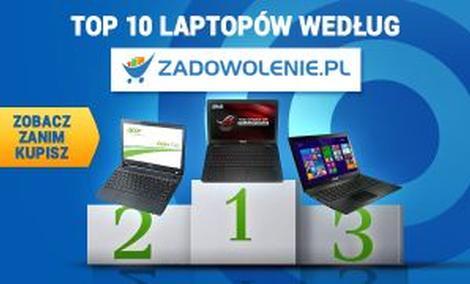 TOP 10 Notebooków - Poznaj Najczęściej Kupowane Modele!