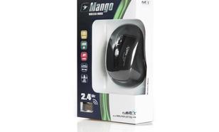 NATEC Mysz bezprzewodowa MANGO 2,4 GHz + Etui