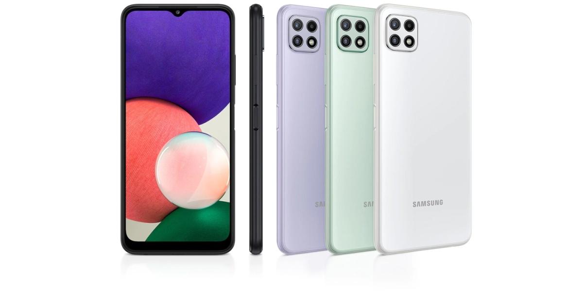 Samsung Galaxy A22 to telefon z optyczną stabilizacją obrazu