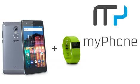 Nowy Smartfon Idealny do Miasta - MyPhone City
