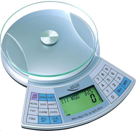 waga z pomiarem kalorii