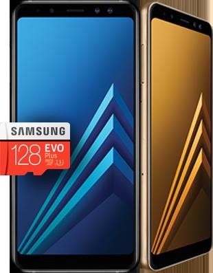 Promocja Samsung Galaxy A8 2018 - karta microSD gratis
