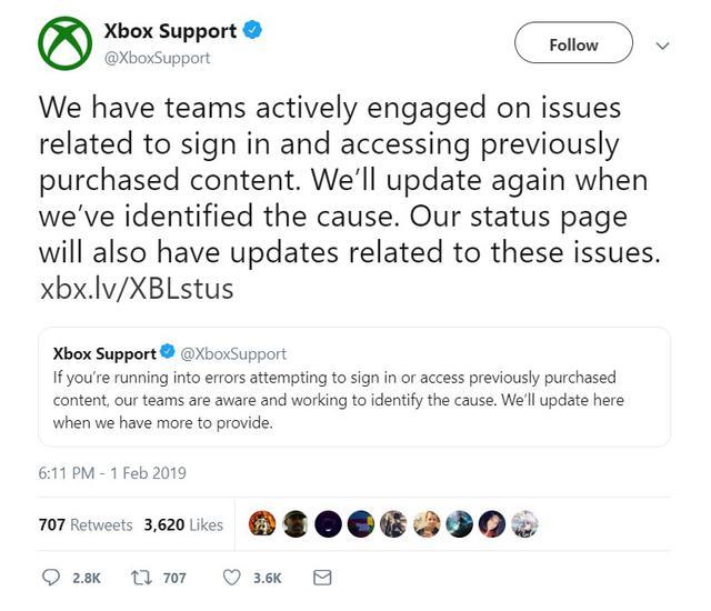 Microsoft ma problemy z Xbox Live