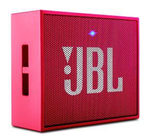 prezent na święta do 300 zł - głośnik bezprzewodowy JBL GO Pink