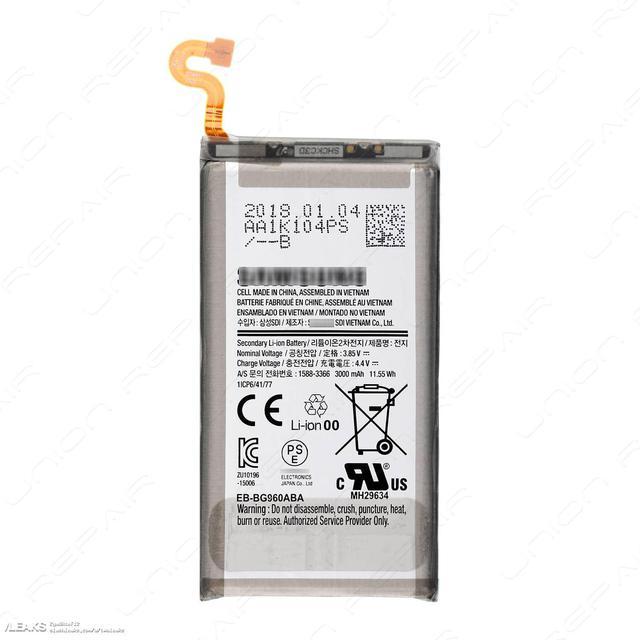 Bateria Galaxy S9