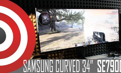 Test monitora Samsung CURVED SE790C o proporcjach 21:9