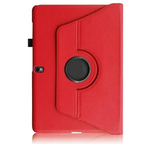 """WEL.COM Etui obrotowe 360° Galaxy Tab Pro 10"""" T520/T521 czerwone"""