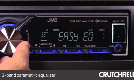 JVC KD-X310BT - Czołowy Radioodtwarzacz Samochodowy JVC