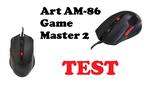 ART Game Master 2 (AM-86) - testujemy taniego klona myszki Bloody V5