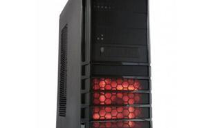MODECOM Komputerowa PRO-STATION BLACK RED Bez a