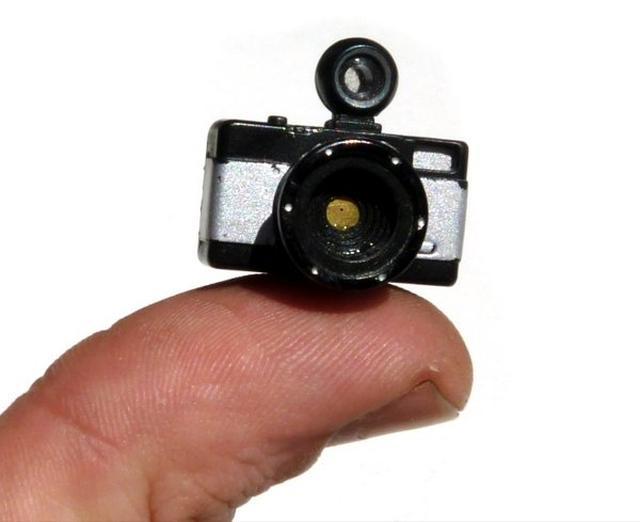 Najmniejszy aparat na świecie?