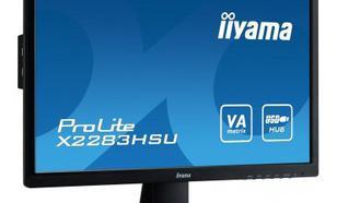 IIYAMA 21.5'' X2283HS-B1DP VA/Disp.Port/USB/2x1W/3000:1