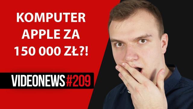 Komputer Apple za 150 000 zł, UberCopter oraz nowe prawo dronów - VideoNews #209