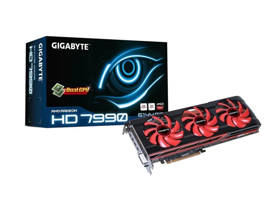 GIGABYTE Radeon HD 7990 – nowy król wydajności