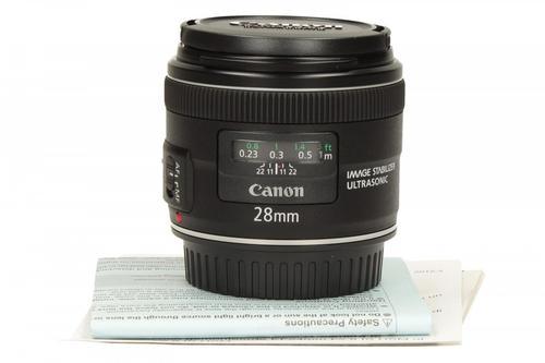 Canon EF 28MM 2.8 IS USM 5179B005