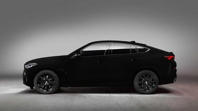 BMW X6 z lakierem VantaBlack pochłania 99,96% światła
