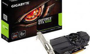 Gigabyte GeForce GTX 1050 OC 2GB GDDR5 (128 Bit) 2xHDMI, D-Sub, DVI-D, BOX, LP (GV-N1050OC-2GL)