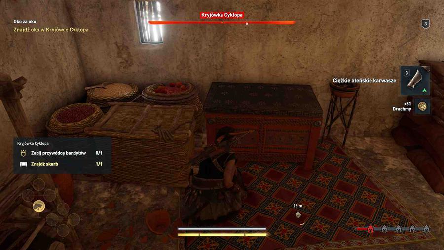 Assassin's Creed Odyssey - Skradanie musi być